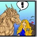 krótki komiks o długich włosach