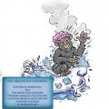 Małpiszonek - ilustracja