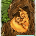 Iwi z mamą
