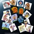 Turniej Złotorożca - ilustracje zebrane