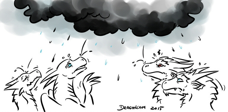 Pogoda kaszani się bardziej...