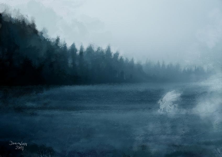 Jezioro.