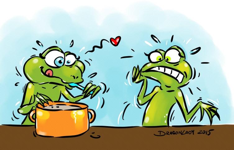 Żabi żur.